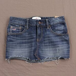 hollister denim skirt