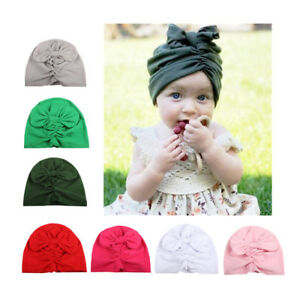 Baby Boy Girl Newborn Infant Winter Warm Beanie Cotton Wrapped Cap ... 53258025653b