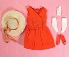 Vintage Skipper Barbie 1901 Red Sensation w/ Hat Near Complete 1964 EXCELLENT