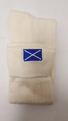 Mezcla De Lana Bordado Escocés Kilt Calcetines 4-7 8-10 11-13 León Cruz Masónica