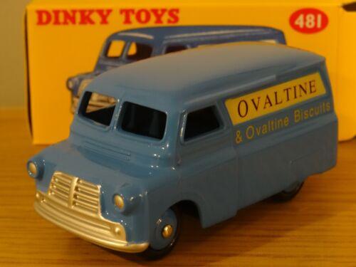 ATLAS NOREV DINKY TOYS OVALTINE BEDFORD 10 CWT VAN MODEL 481