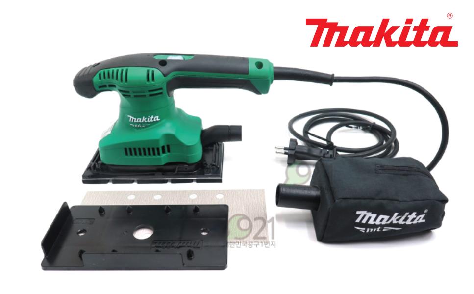 Makita M9203M 1 3 Sheet Finish Sander 92x185mm 3lb 190W MT923G 2M-Cord EMS 220V