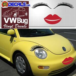 Details about EYELASHES for cars headlight, Car eyelashes, car light  eyelash sticker decal Car