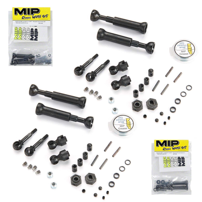 MIP 10130   10132 Front & Rear X-Duty CVD Kit for Traxxas Slash 4X4