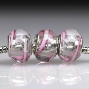 5pcs-Murano-Glass-European-Spacer-Beads-Lampwork-Fit-Bracelet-Chain-LB0057-FB