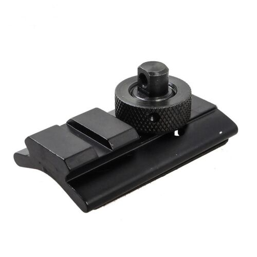 HOT Bipod Adapter Swivel Stud Picatinny Slot Adaptor Kit Weaver Rail Slot Sling