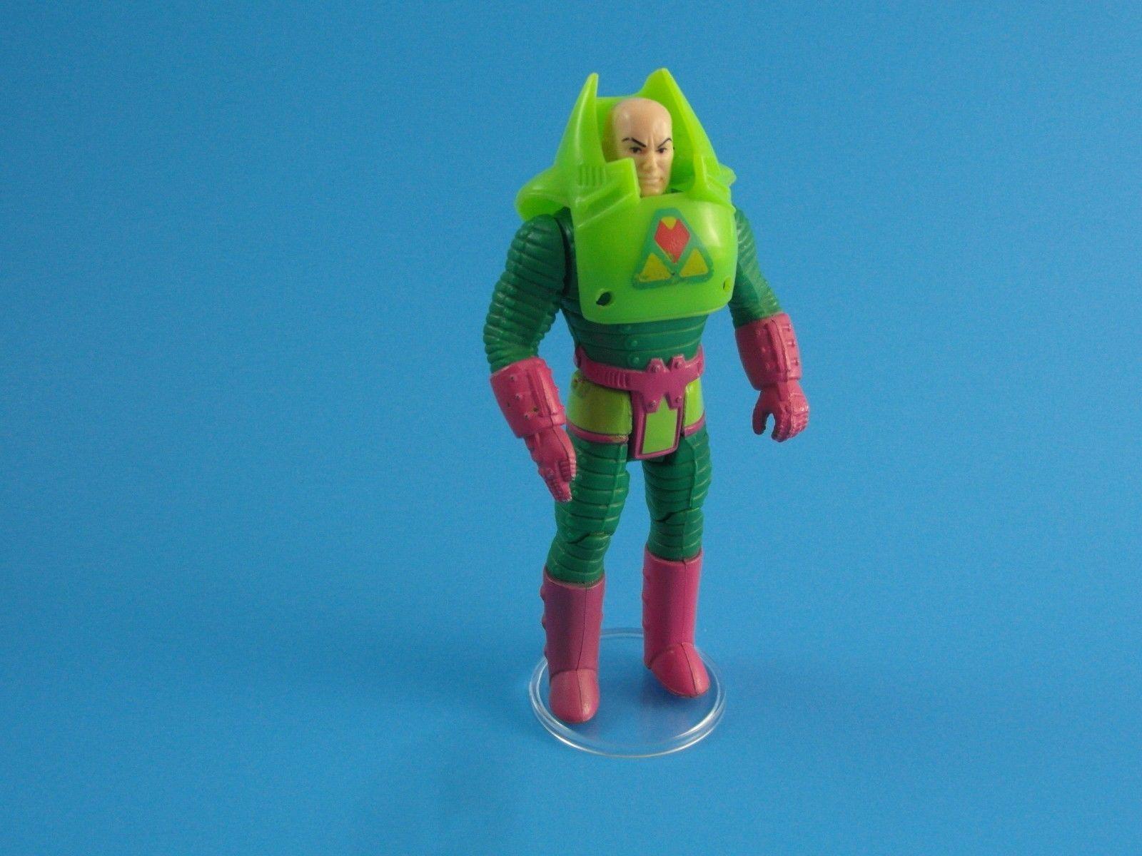 200 x Vintage Super Powers Action Figure Stands - Clear  T2c