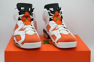 save off 5b595 f7347 Image is loading Nike-Air-Jordan-6-Retro-Gatorade-Sneakers-White-