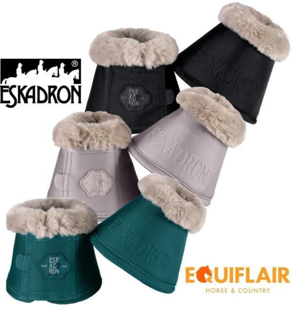 Eskadron Platinum Faux Fur Overreach Bell Boots Martini//Olive