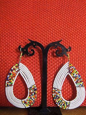 Beaded Maasai Earrings.