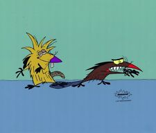 TWO ANGRY BEAVERS Limited Edition Painted Cel Cell Nickelodeon Animation Art