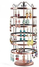 Soriace Rotation Jewellery Display Stand, Earrings Holder Stand, Storage Round