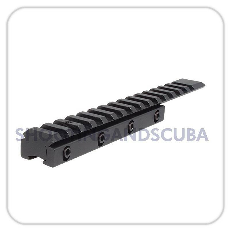 Hawke 1 Piece 9-11mm to Weaver   Picantinny Extended Rail Adapters HM17017 for A