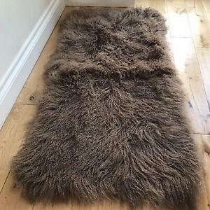 Mongolian Sheepskin Long Wool Fur