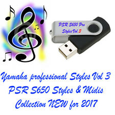 Yamaha PSR S650 Professional styles and Midi's New for 2017 LOOK !!!!!