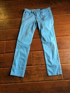 AG-Adriano-Goldschmied-034-The-Stilt-034-cigarette-leg-jeans-Blue-size-28R