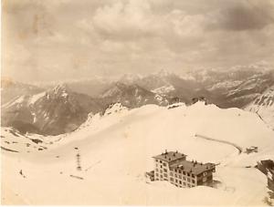 Suisse-Rochers-des-Rayes-Vintage-albumen-print-Tirage-albumine-19x25