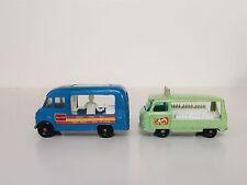 Set -Vintage Lesney Matchbox #47 Ice Cream Truck and #21 Bottle Float Truck