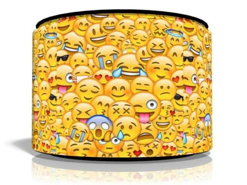 "KIDS  CEILING LIGHT LAMP LIGHT SHADE 11/""  FREE  P /& P EMOJIS EMOJI"