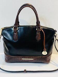 Brahmin-Duxbury-Satchel-Black-Tuscan-Leather-Shoulder-Handbag