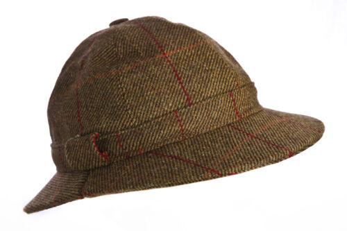 Ghillie cappello lana tweed per la Caccia Tiro Pesca Nuovo