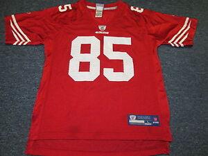 LIGHTLY WORN REEBOK NFL EQUIPMENT SAN FRANCISCO 49ERS VERNON DAVIS ...