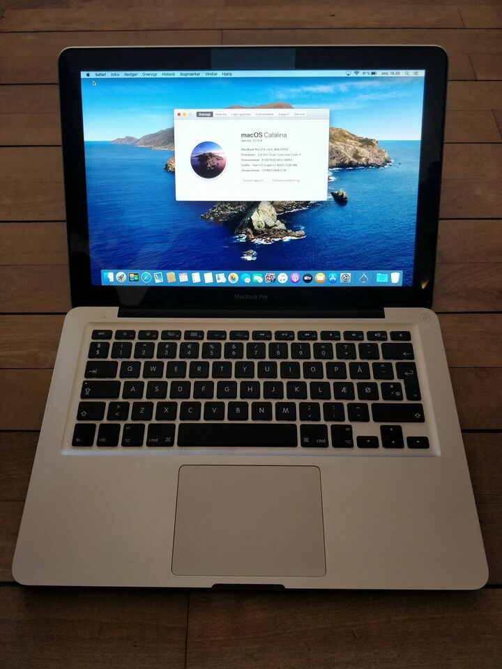 MacBook Pro, Mid 2012, 2,9 GHz Intel Core i7 GHz