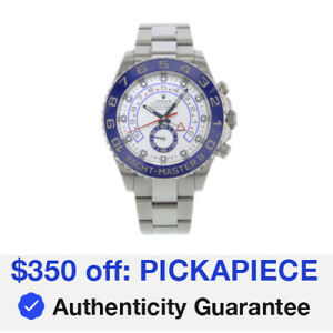 Rolex Yacht-Master II 116680 Stainless Steel Auto Men's, $350 Off: PICKAPIECE