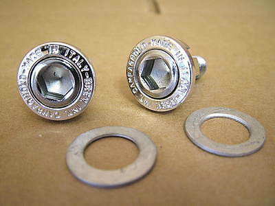 New-Old-Stock Sugino Crank Arm Nuts for Square Tapered Bottom Brackets