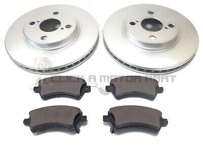 Toyota Corolla 1.4 1.6 VVTi 02-06 Front /& Rear Brake Discs /& Pads