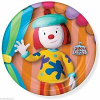 Jojo's Circus Large Paper Plates (8) Birthday Party Supplies Dinner Luncheon