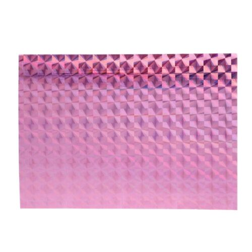 2//5pcs Holographic Adhesive Film Flash Tape For Lure Making Fly Tying 7cm x 10cm