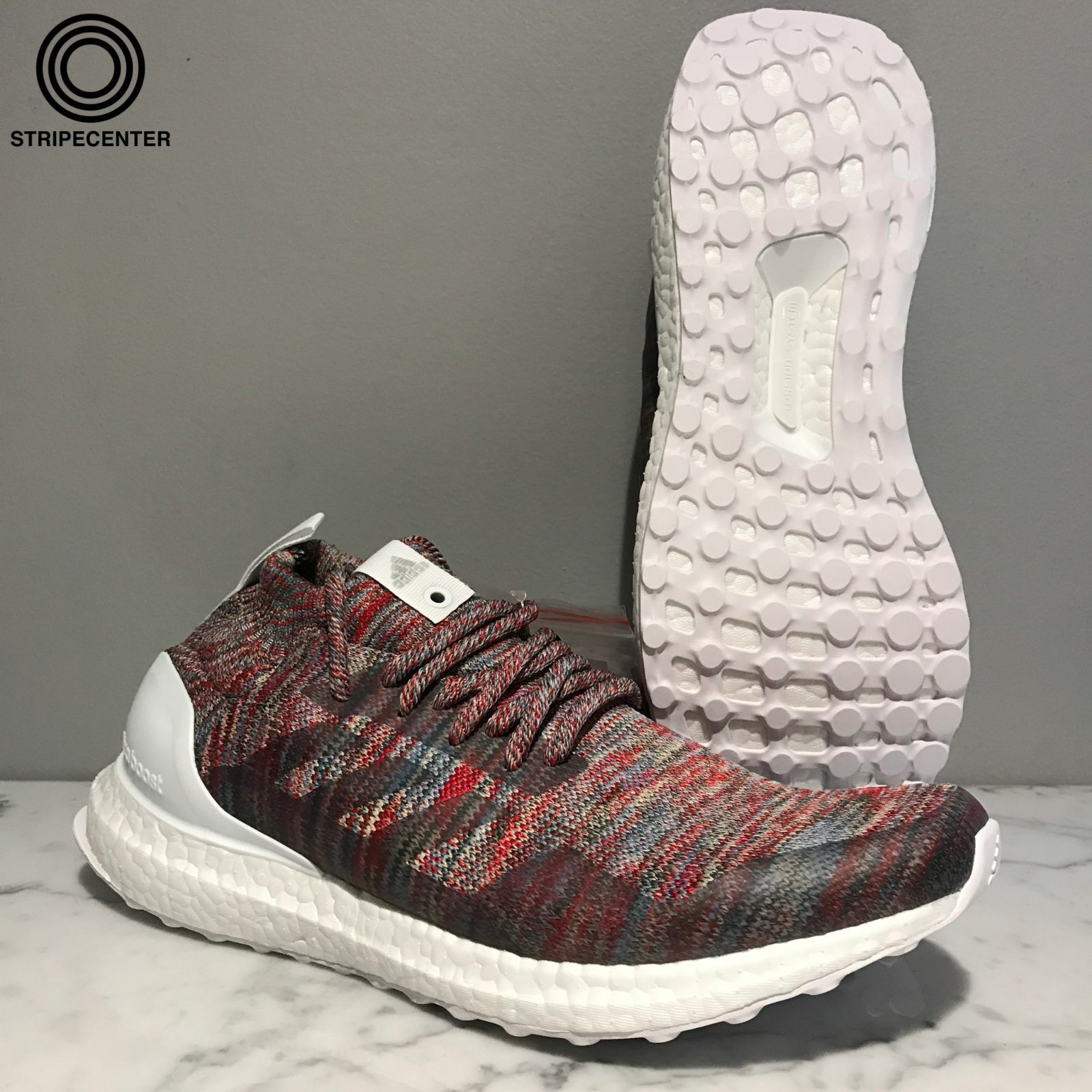 Adidas ULTRA BOOST MID 'KITH' - BY2592 - FTWHITE CBLACK CLABRO