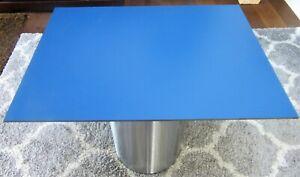 HPL Platte Tischplatte 8mm Midnight Blue beidseitig 836 x 610 mm TRESPA® Meteon®