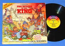 THE HOBBIT -THE RETURN OF THE KING--J.R.R. TOLKIEN / RANKIN BASS RECORD ALBUM