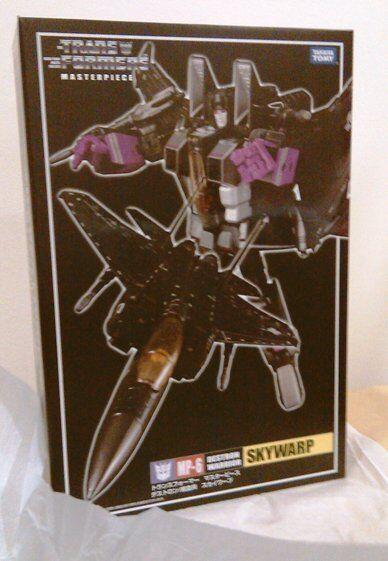 Transformers Takara Transformers MP-6 MP-06 Destron Warrior Skywarp Authentic