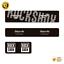 thumbnail 8 - STAR SAM® Bike shock absorber stickers 2020 RockShox Monarch Plus Rear Shock