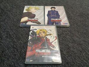 Fullmetal alchemist funimation DVD set Volumes 7-10-12 ...