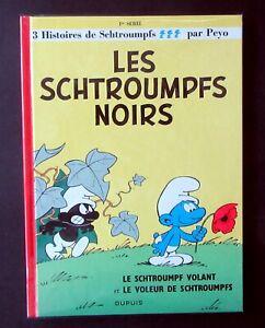 LES-SCHTROUMFS-NOIRS-PEYO-3-HIST-DE-SCHTROUMPFS-EDIT-2014-DEDICACE-NEUF