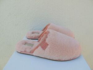 cda0f3819a6 Details about UGG SUNSET PINK FLUFFETTE SHEEPWOOL SLIPPERS, WOMEN US 11/  EUR 42 ~NIB