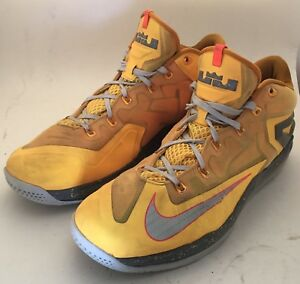 Men-039-s-Nike-MAX-LEBRON-XI-LOW-642849-800-Basketball-Shoes-Sz-13-FREE-SHIPPING