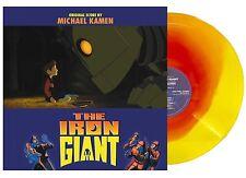THE IRON GIANT Exclusive 2017 Orange/Yellow Swirl Color Vinyl Soundtrack LP RSD