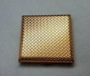 Vintage-Used-Estee-Lauder-Honey-Glow-22oz-Pressed-Powder-Make-Up-Compact