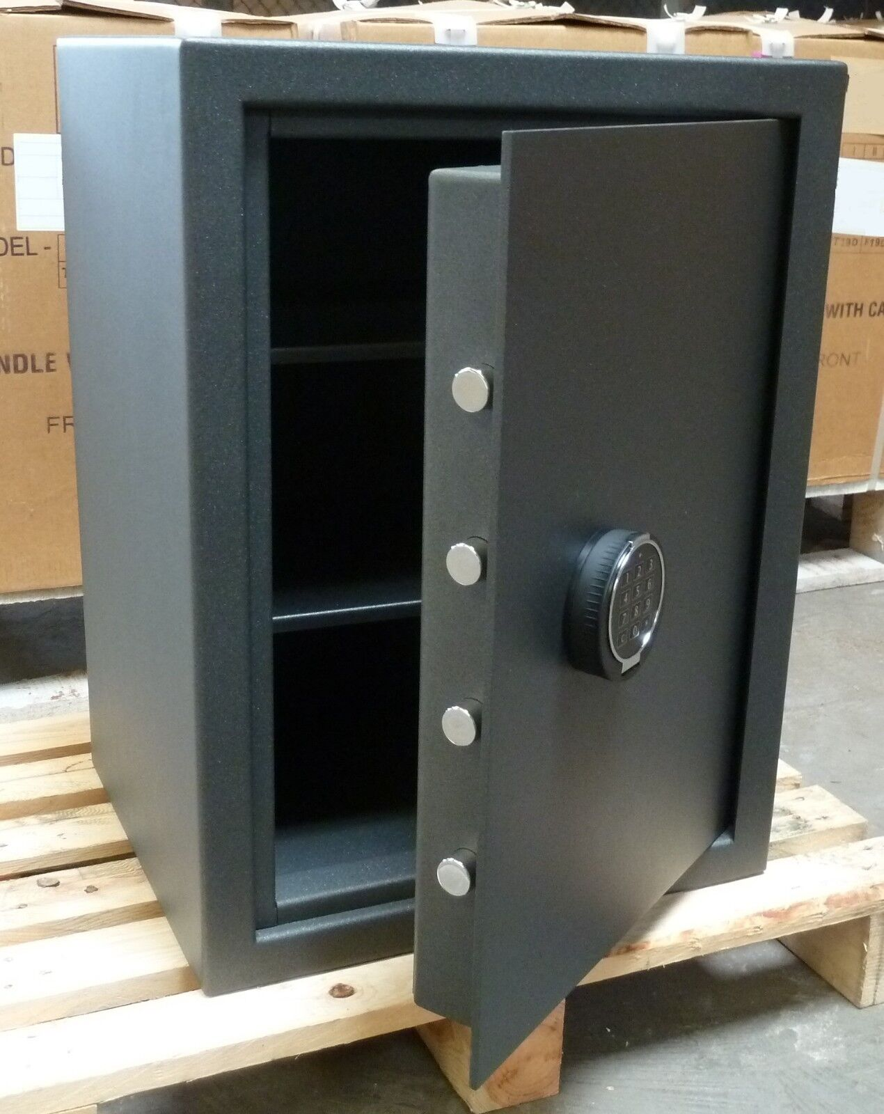 Tresor VdS S2 + Stufe VDMA B Elektronikschloß Wertschutzschrank Wertschutzschrank Wertschutzschrank Möbel Safe 92 Kg 864bf0