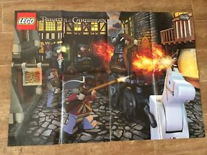 Poster Only Lego Pirates Of The Caribbean On Stranger Tides Street