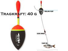 Raubfischpose 125mm schwarz Pike Trolling Float Mr 30 bis 40 g Tragkraft