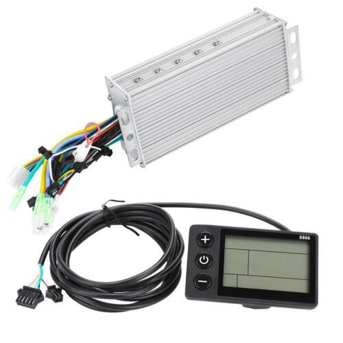 48V//60V Electric Bicycle E-bike Scooter Brushless Motor Controller LCD Panel Set