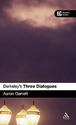 Berkeleys Three Dialogues: A Readers Guide (A Readers Guides), Garrett, Aaron V.