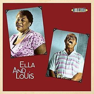 Ella-Fitzgerald-Louis-Armstrong-Ella-amp-Louis-New-Vinyl-LP-UK-Import