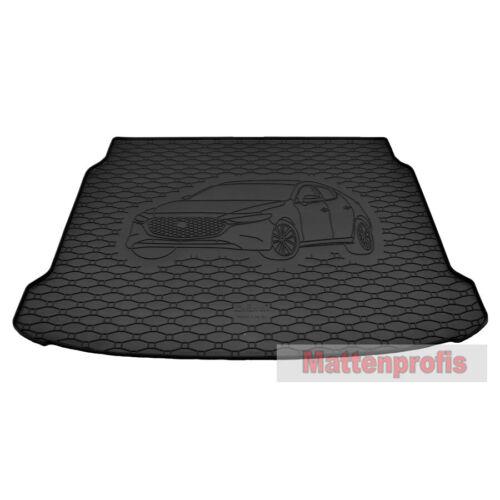 Gummi Kofferraumwanne für Mazda 3 Schrägheck BP ab Bj.01//2019 GKK Gummimatten